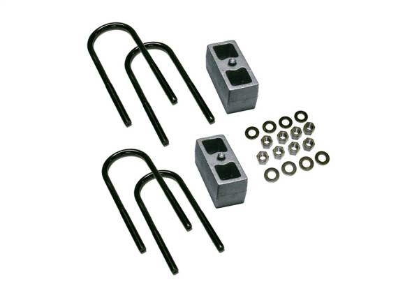 Superlift - Superlift 3 Rear Block Kit-99-10 F250/F350 w 3 7/8 Axle Tube w/out Top Mounted Overloads 9235