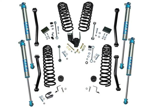 Superlift - Superlift Dual Rate Coil 4 Lift Kit w/KING 2.0 Shocks-18-20 Wrangler JL-4Dr K184KG