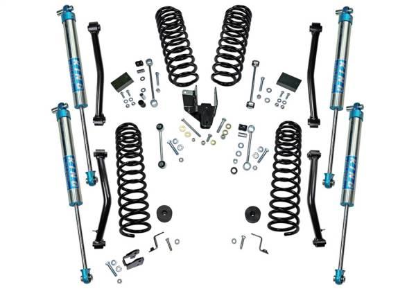 Superlift - Superlift Dual Rate Coil 4 Lift Kit w/KING 2.0 Shocks-18-20 Wrangler JL-2Dr K186KG