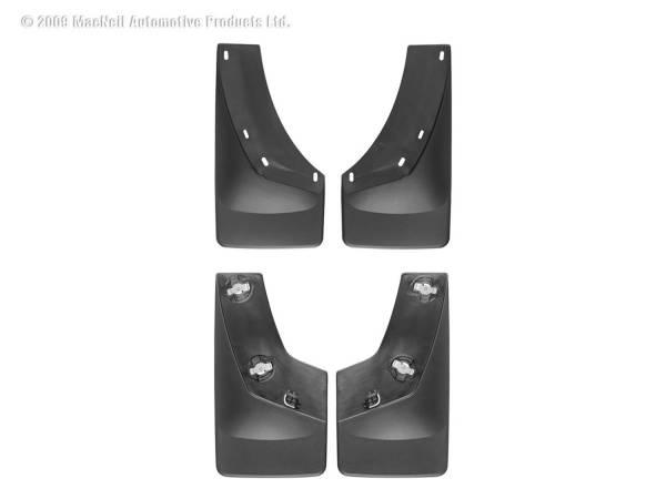 Weathertech - Weathertech MudFlap No-Drill DigitalFit MudFlap Kit 110010-120010
