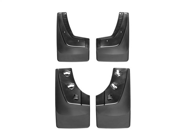 Weathertech - Weathertech MudFlap No-Drill DigitalFit MudFlap Kit 110036-120036