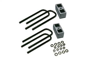 Steering And Suspension - Springs - Superlift - Superlift 3 Rear Block Kit-11-16 F-250/F-350 w/Top Mounted Overloads 9087