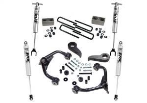 Steering And Suspension - Lift & Leveling Kits - Superlift - Superlift 3 Lift Kit w/FOX Shocks-11-18 (19 Leg/Lim) Silv/Sierra 2500HD/3500HD K1010F