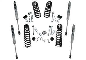 Superlift - Superlift 2.5 Dual Rate Coil Lift Kit w/Fox Shocks-18-20 Wrangler JL-2Dr K185F