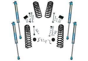 Superlift - Superlift Dual Rate Coil 2.5 Lift Kit w/KING 2.0 Shocks-18-20 Wrangler JL-2Dr K185KG