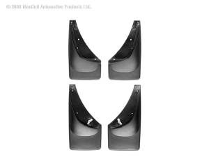 Exterior - Accessories - Weathertech - Weathertech MudFlap No-Drill DigitalFit MudFlap Kit 110006-120006