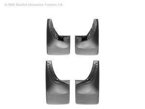 Exterior - Accessories - Weathertech - Weathertech MudFlap No-Drill DigitalFit MudFlap Kit 110007-120007