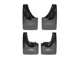 Exterior - Accessories - Weathertech - Weathertech MudFlap No-Drill DigitalFit MudFlap Kit 110026-120026