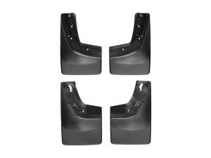 Exterior - Accessories - Weathertech - Weathertech MudFlap No-Drill DigitalFit MudFlap Kit 110035-120035