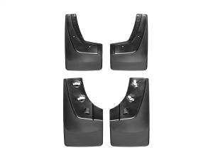 Exterior - Accessories - Weathertech - Weathertech MudFlap No-Drill DigitalFit MudFlap Kit 110036-120036
