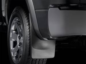 Exterior - Accessories - Weathertech - Weathertech MudFlap No-Drill DigitalFit MudFlap Kit 110065-120074