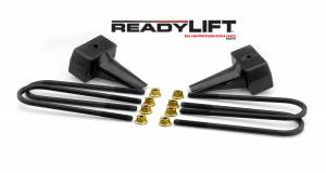 Steering And Suspension - Springs - ReadyLift - ReadyLift Rear Block Kit 66-2014