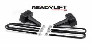 Steering And Suspension - Springs - ReadyLift - ReadyLift Rear Block Kit 66-2015