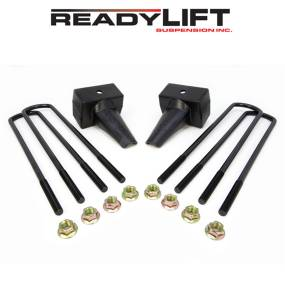 Steering And Suspension - Springs - ReadyLift - ReadyLift Rear Block Kit 66-2024