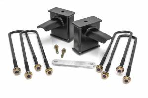 Steering And Suspension - Springs - ReadyLift - ReadyLift Rear Block Kit 66-2761