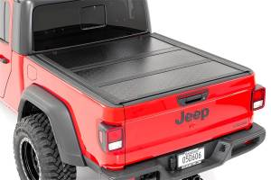 Bed Accessories - Tonneau Covers - Rough Country - Rough Country Hard Tri-Fold Tonneau Bed Cover 47620500