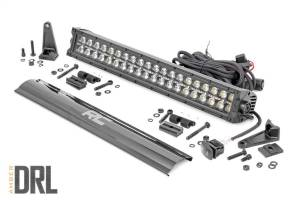 Rough Country - Rough Country Cree Black Series LED Light Bar 70920BLKDRLA