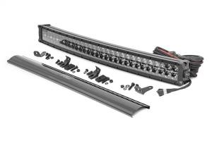 Lighting - Offroad Lights - Rough Country - Rough Country Cree Black Series Curved LED Light Bar 72930BD