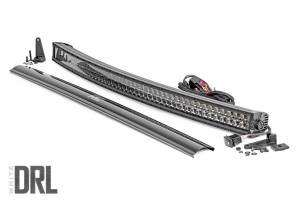 Lighting - Offroad Lights - Rough Country - Rough Country Cree Black Series Curved LED Light Bar 72950BLKDRL