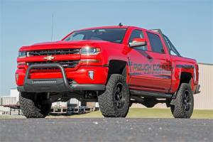 Exterior - Running Boards - Rough Country - Rough Country HD2 Cab Length Running Boards SRB071777