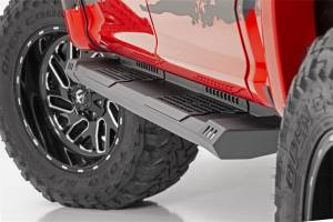 Exterior - Running Boards - Rough Country - Rough Country HD2 Cab Length Running Boards SRB991691