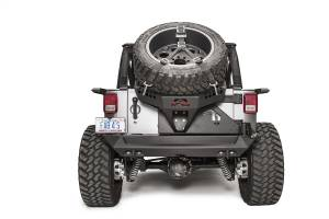Exterior - Accessories - Fab Fours - Fab Fours Spare Tire Carrier JK2070-B