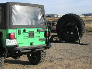 Exterior - Accessories - Fab Fours - Fab Fours Spare Tire Carrier JP-Y1251T-1