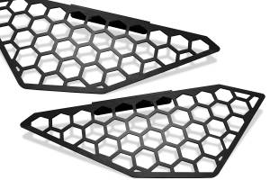 Exterior - Grilles - Fab Fours - Fab Fours Vengeance Side Light Mesh Insert Cover M3250-B