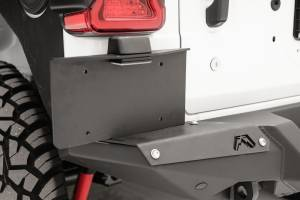 Exterior - Accessories - Fab Fours - Fab Fours Rear Bumper License Plate Bracket M4550-1
