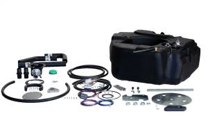 Fuel System & Components - Fuel System Parts - TITAN Fuel Tanks - TITAN Fuel Tanks Spare Tire Auxiliary Fuel System 4010201