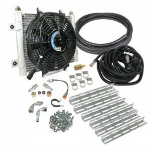 Transmission - Automatic Transmission Parts - BD Diesel - BD Diesel Xtruded Trans Oil Cooler - 5/8 inch Cooler Lines 1030606-5/8