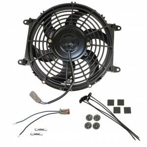 Transmission - Automatic Transmission Parts - BD Diesel - BD Diesel Universal Electric Cooling Fan Kit - 80-watt 10-inch 800 CFM 1030607