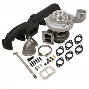 Turbo Chargers & Components - Turbo Charger Kits - BD Diesel - BD Diesel BD Iron Horn 5.9L Cummins Turbo Kit S363SXE/76 0.91AR Dodge 2003-2007 1045172