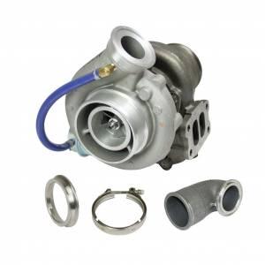 BD Diesel Super B Single SX S358 Turbo Kit w/FMW Billet Wheel - Dodge 2003-2004 5.9L 1045230