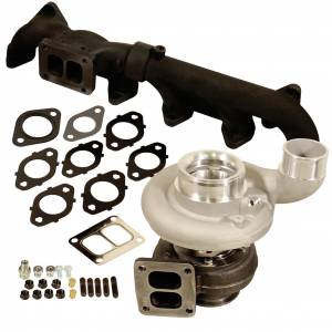 Turbo Chargers & Components - Turbo Charger Kits - BD Diesel - BD Diesel BD Iron Horn 6.7L Cummins Turbo Kit S369SXE/80 1.00AR Dodge 2007.5-2018 1045299