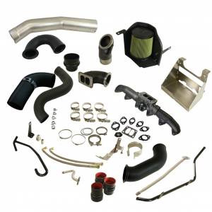 Turbo Chargers & Components - Turbo Charger Kits - BD Diesel - BD Diesel BD Cummins 6.7L Cobra Turbo Install Kit - Dodge 2010-2012 w/S300SX-E Secondary 1045765