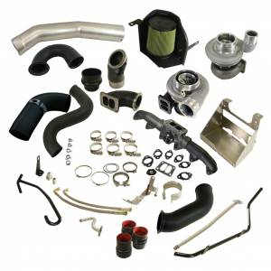 Turbo Chargers & Components - Turbo Charger Kits - BD Diesel - BD Diesel BD Cummins 5.9L Cobra Twin Turbo Kit S366SX-E / S486 BD - Dodge 2003-2007 5.9L 1045794