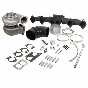 Turbo Chargers & Components - Turbo Charger Kits - BD Diesel - BD Diesel BD ISX Turbocharger & Manifold Package (USA) S400SX4 75mm Cast / 96mm 1.32A/R 1048012US