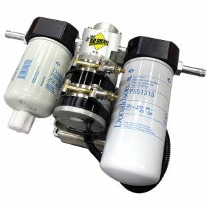 Fuel System & Components - Fuel System Parts - BD Diesel - BD Diesel Flow-MaX Fuel Lift Pump c/w Filter & Separator - Dodge 2010-2012 6.7L 1050311DF