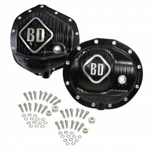 Steering And Suspension - Differential Covers - BD Diesel - BD Diesel BD Dodge Front & Rear Differential Cover Pack - 2500 2014-2018 / 3500 2013-2018 1061829