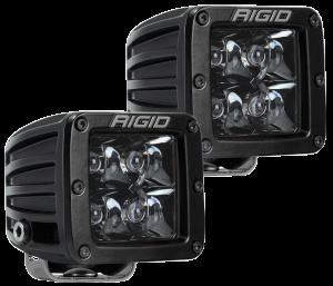 Lighting - Accessories - RIGID Industries - RIGID Industries D-SERIES PRO SPOT MIDNIGHT /2 202213BLK