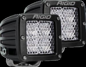 Lighting - Accessories - RIGID Industries - RIGID Industries D-SERIES PRO DIFFUSED SM /2 202513