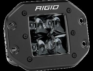 Lighting - Accessories - RIGID Industries - RIGID Industries D-SERIES PRO SPOT FM MIDNIGHT 211213BLK