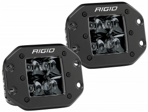 Lighting - Accessories - RIGID Industries - RIGID Industries D-SERIES PRO SPOT FM /2 MIDNIGHT 212213BLK