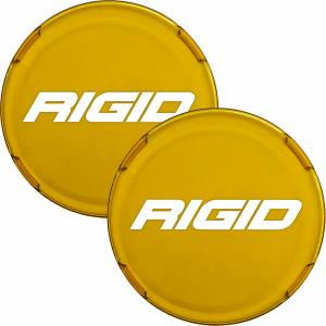 Lighting - Light Covers - RIGID Industries - RIGID Industries COVER FOR RIGID 360-SERIES 6 INCH LED LIGHTS, AMBER SET OF 2 36362-TA