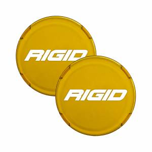 Lighting - Light Covers - RIGID Industries - RIGID Industries COVER FOR RIGID 360-SERIES 4 INCH LED LIGHTS, AMBER SET OF 2 36363-TA