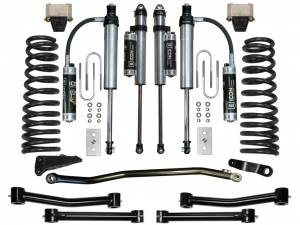 "Steering And Suspension - Lift & Leveling Kits - ICON Vehicle Dynamics - ICON Vehicle Dynamics 03-08 RAM 2500/3500 4WD 4.5"" STAGE 5 SUSPENSION SYSTEM K214504T"