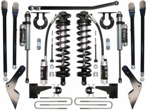 "Steering And Suspension - Lift & Leveling Kits - ICON Vehicle Dynamics - ICON Vehicle Dynamics 05-07 FORD F-250/F-350 4-5.5"" STAGE 4 COILOVER CONVERSION SYSTEM K63114"