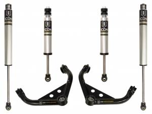 "Steering And Suspension - Lift & Leveling Kits - ICON Vehicle Dynamics - ICON Vehicle Dynamics 01-10 GM 2500HD/3500 0-2"" STAGE 2 SUSPENSION SYSTEM K77101"