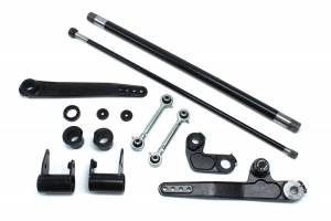 Steering And Suspension - Suspension Parts - TeraFlex - Jeep JK/JKU 4-6 Inch Lift Forged Dual-Rate S/T Front Sway Bar System 07-18 Wrangler JK/JKU TeraFlex